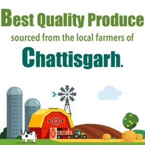 Farm Fresh food from Chhattisgarh