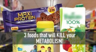 Foods that kill Metabolism