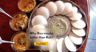 Rice is better than roti